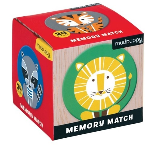 Mudpuppy Memory Spel Geometric Animals
