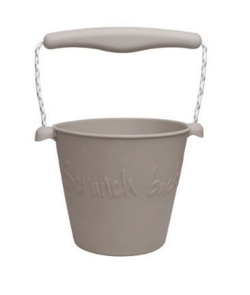 Scrunch Bucket Warm Grey