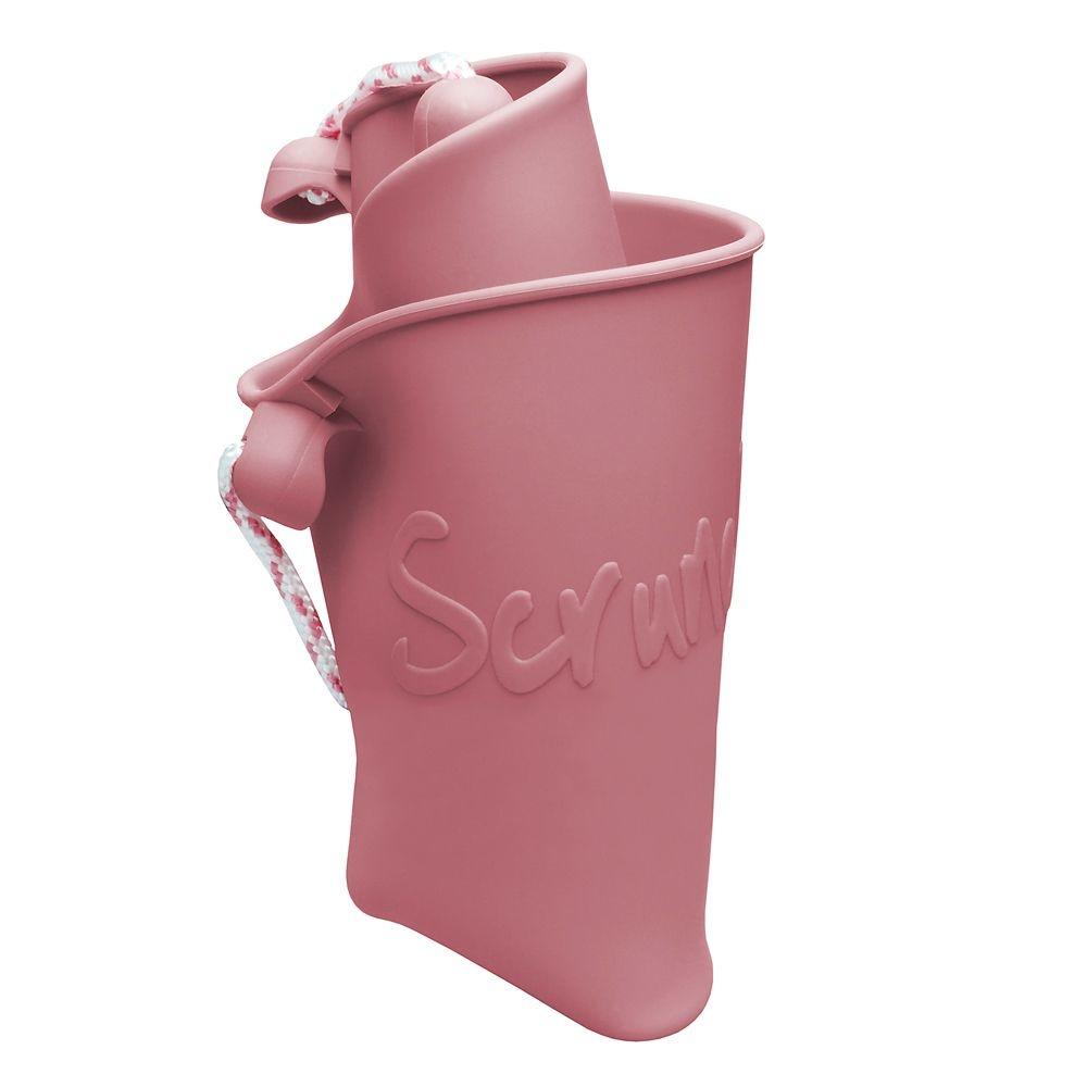 Scrunch Bucket Dusty Rose