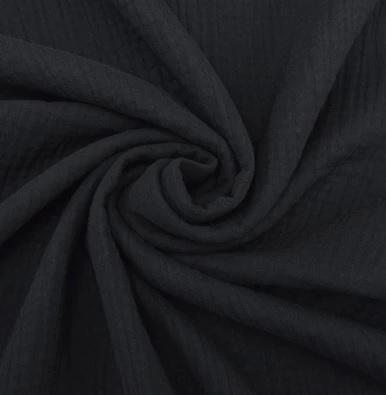Moomu Cover Muslin Deep Black