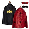 Great Prentenders Verkleedcape Batman & Spiderman