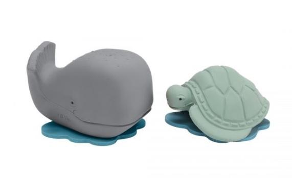 Ingolf de Walvis & Dagmar de Schildpad Badspeelgoed
