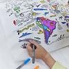Inkleur Kussensloop - De Wereld