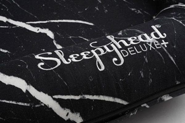 Sleepyhead Deluxe+ nestje - Black Marble