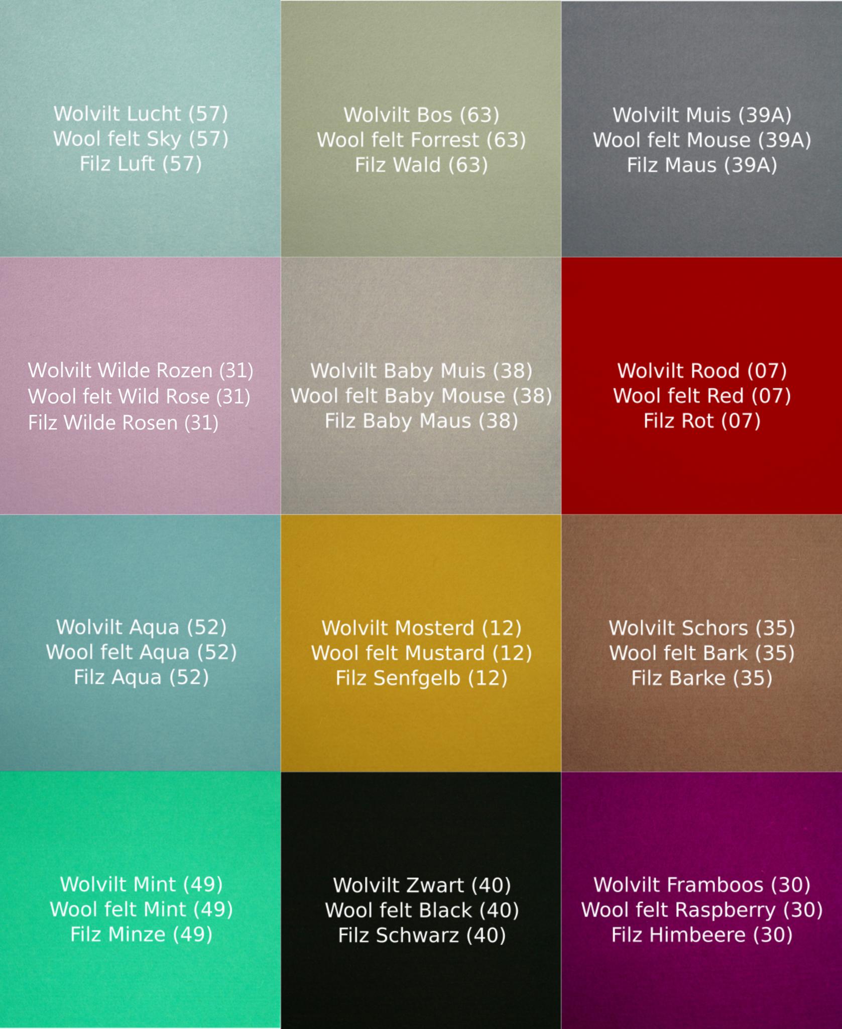 Wobbel Pro Blank Gelakt  - Vilt Muis