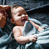 Palais de l'eau Baby Cape Recycled Denim