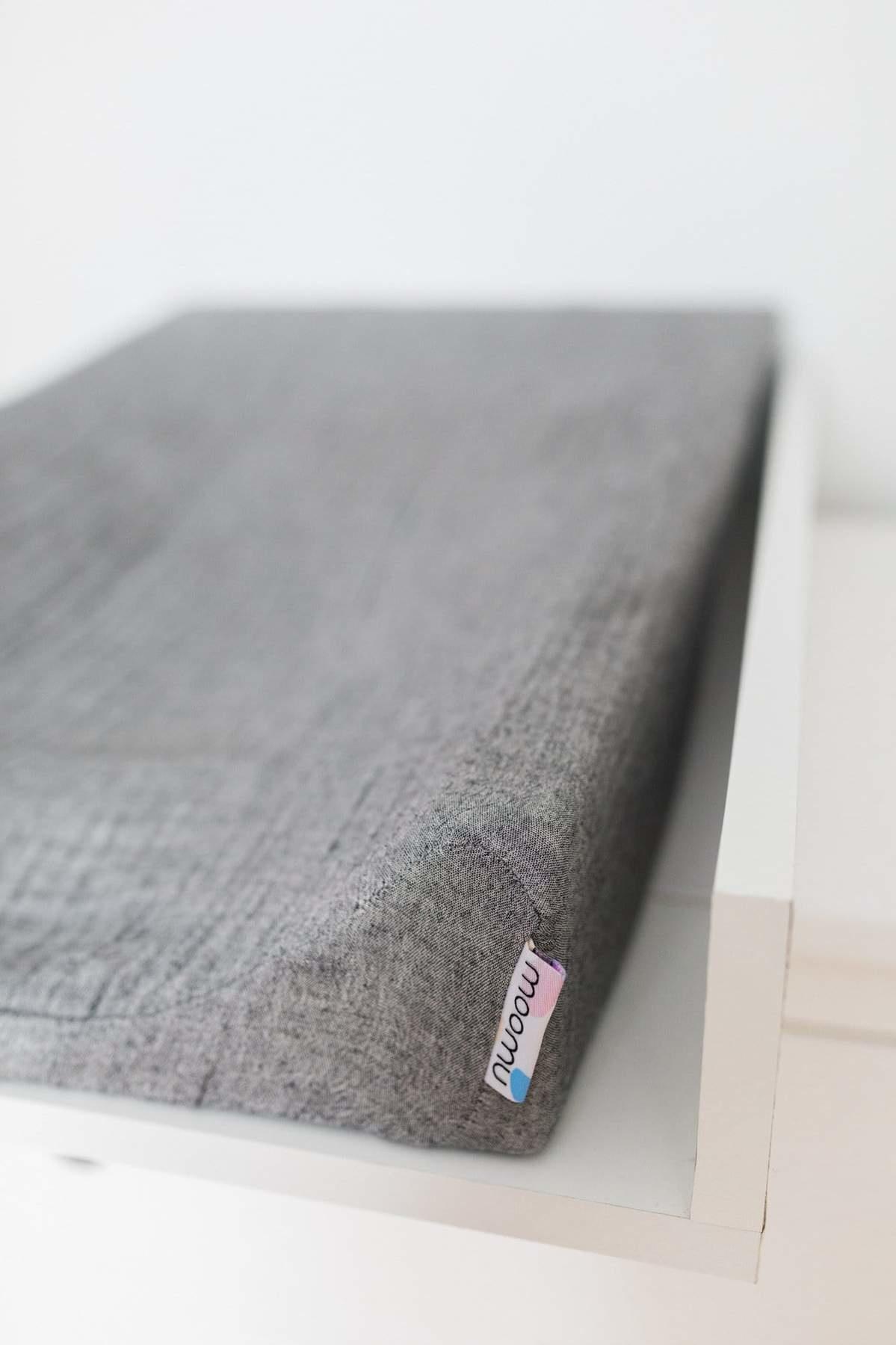 Moomu Cover Stone Grey  Gauze