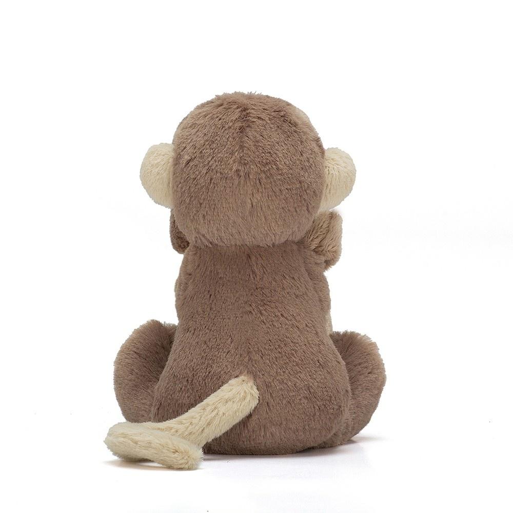 JellyCat Bashful Monkey Knuffeldoekje