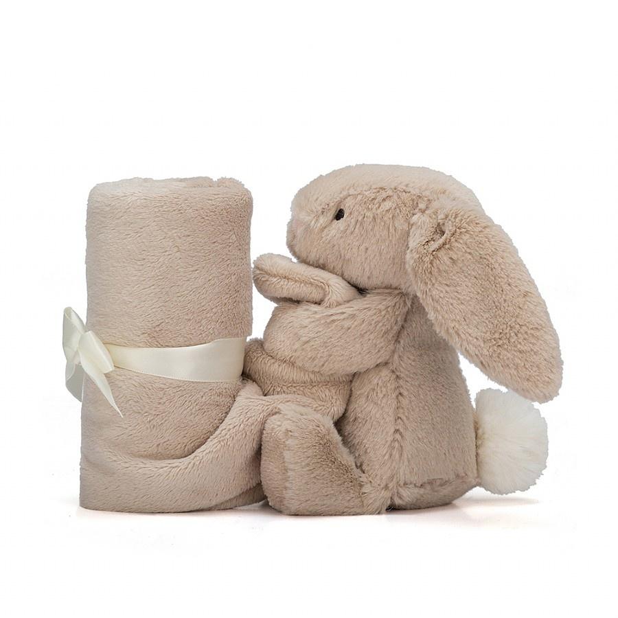 JellyCat Bashful Rabbit Knuffeldoekje