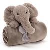 JellyCat Shooshu Elephant Knuffeldoekje