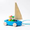 Grimm's Houten Zeilboot