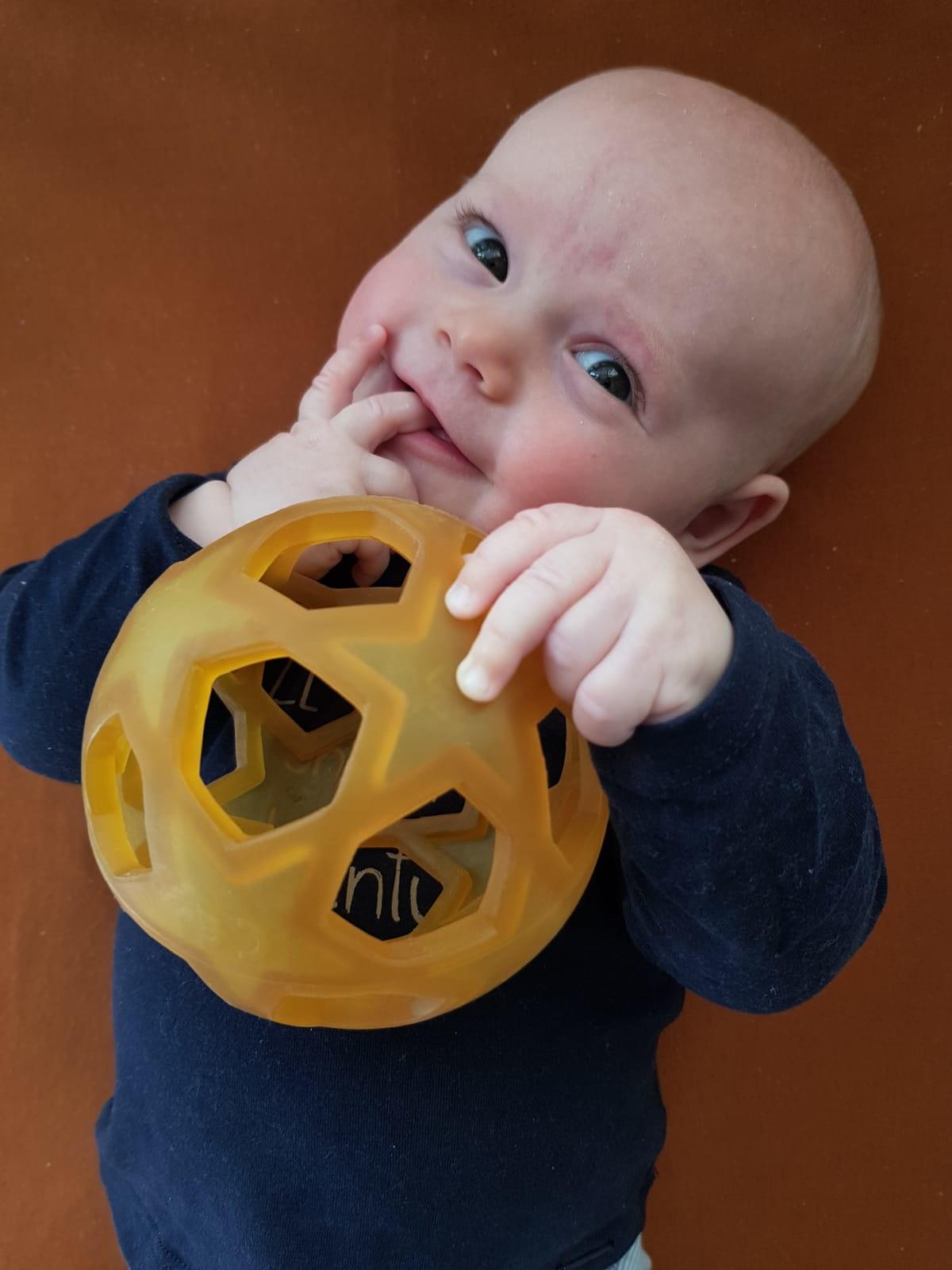 Hevea Baby Speelbal Ster - 100% Natuurrubber