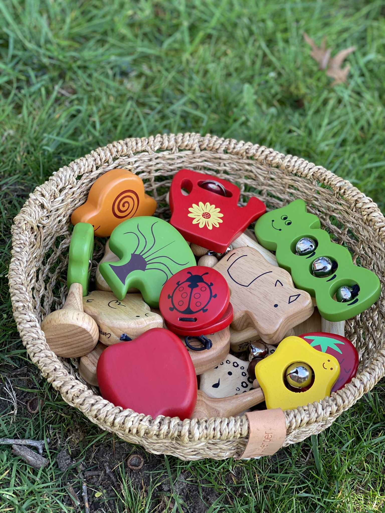 Percussie Muziek Set - Garden Friends (3-delig)