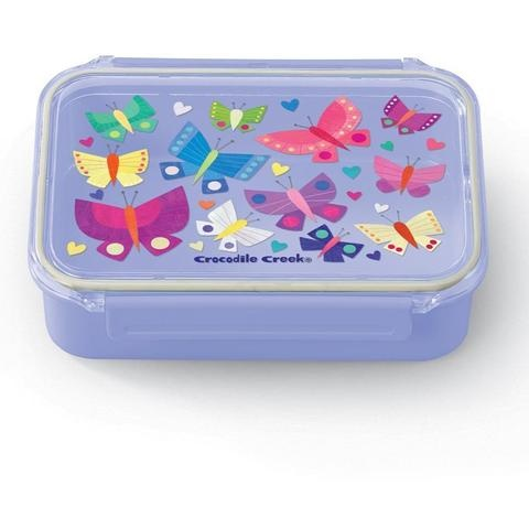 Crocodile Creek Bento Box - Butterflies
