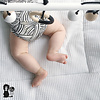 Bo and the Baboon Babytrapeze 'Little Baboon' - Zwart/Wit