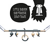 Bo and the Baboon Babytrapeze 'Little Baboon' - Hout/Taupe