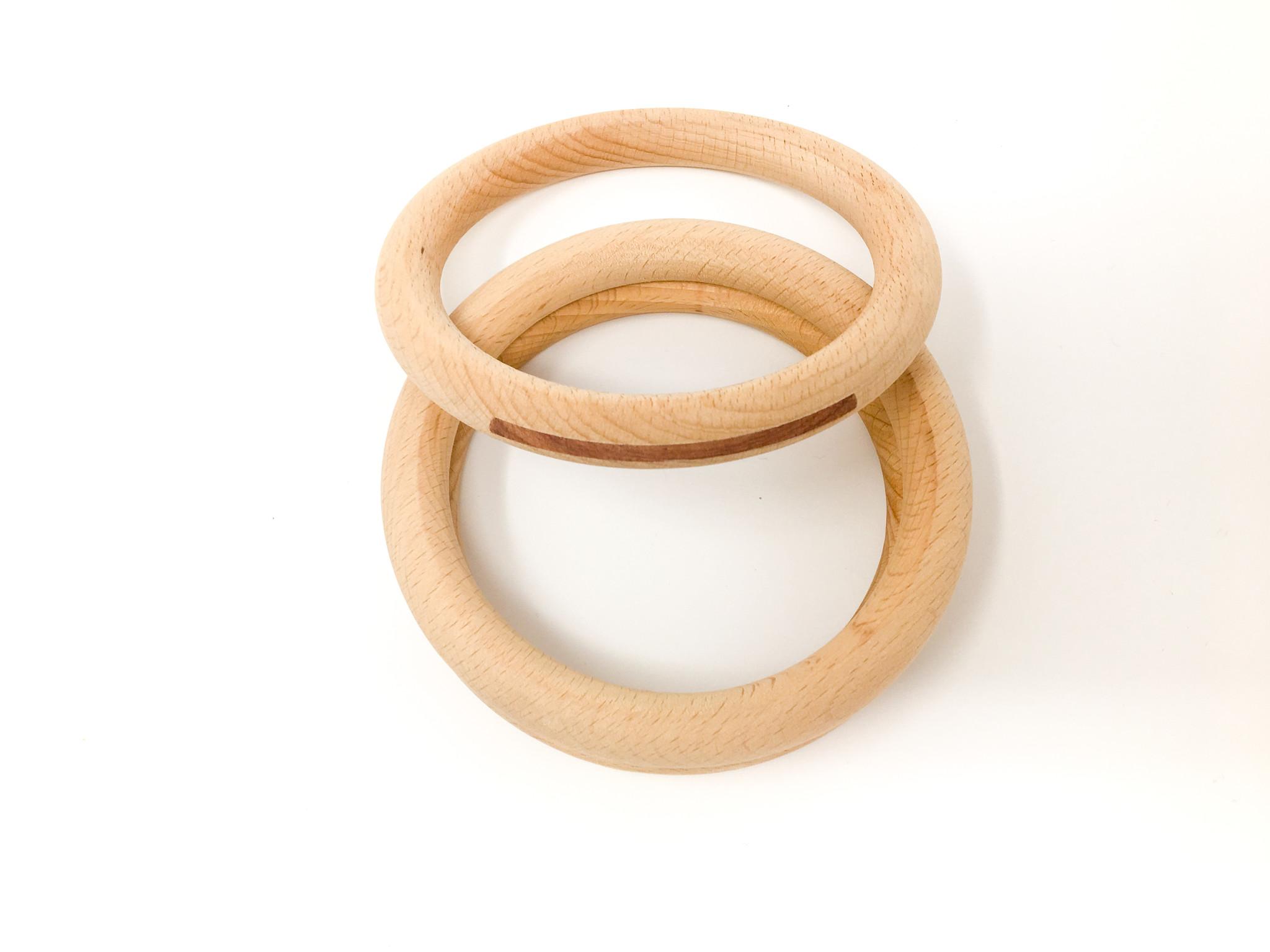 Grapat Houten Ringen (3 stuks)