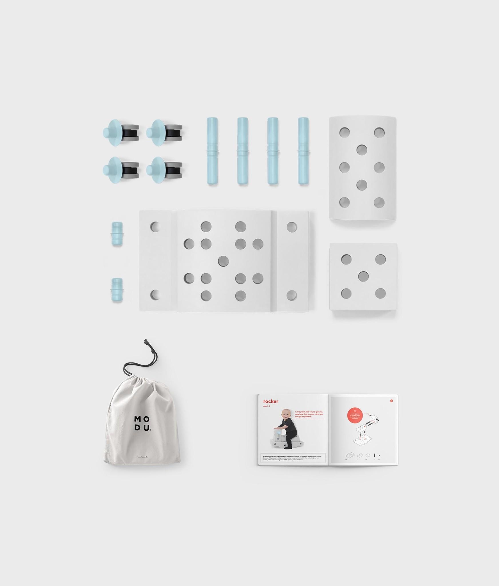 MODU Bouwset - Curiosity Kit Blauw
