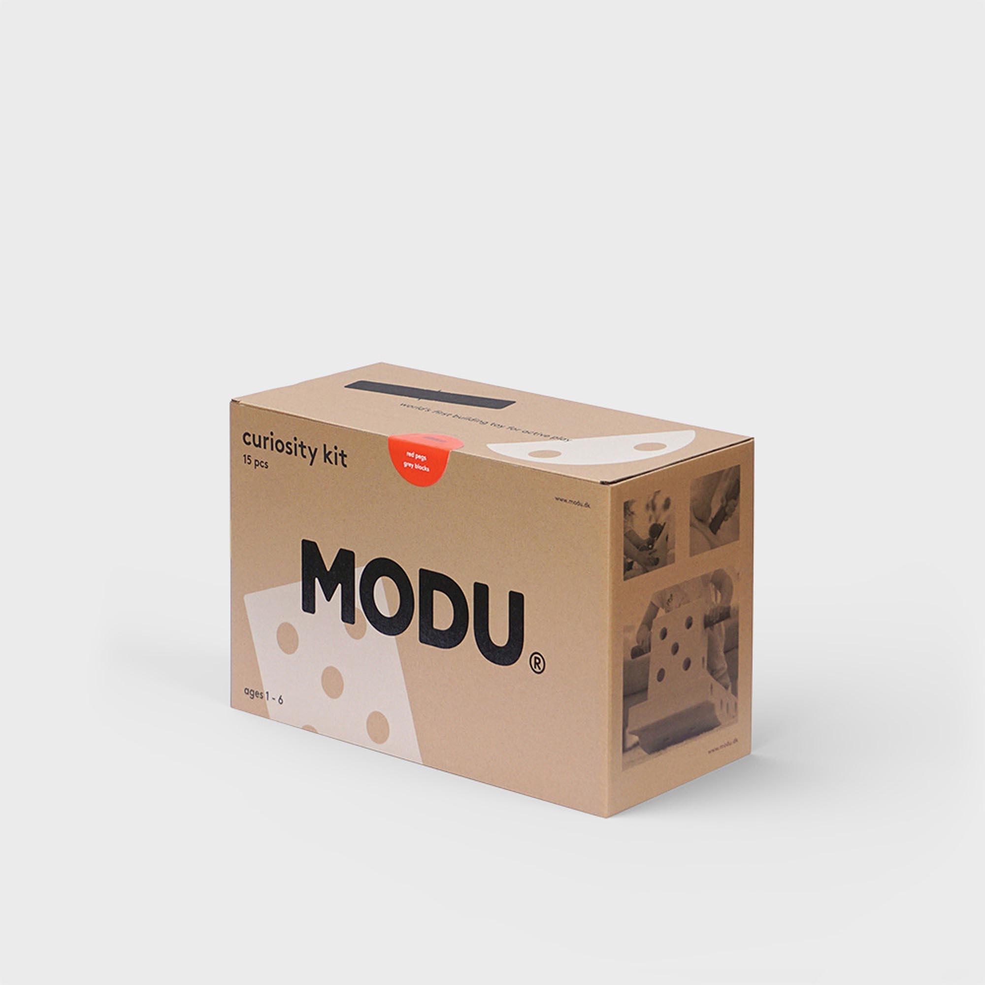 MODU Bouwset - Curiosity Kit Rood