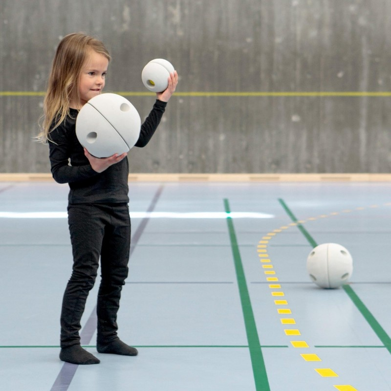 MODU Bouwset - Half Ball Kit Rood