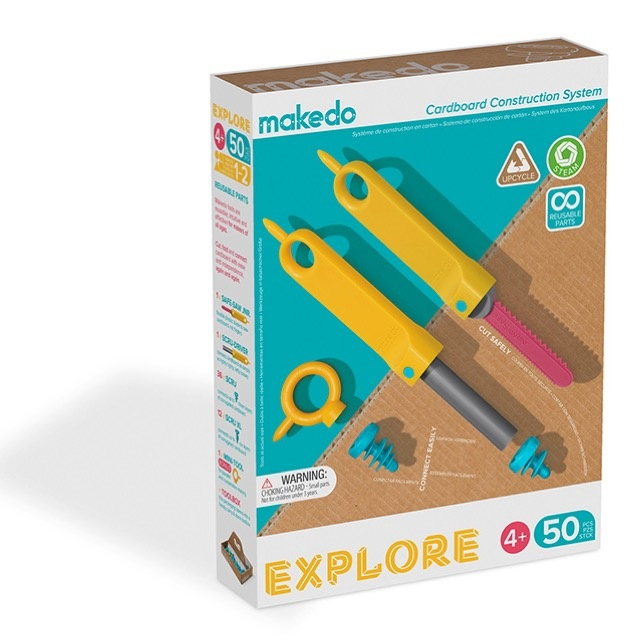 Makedo Explore Set (50-delig)