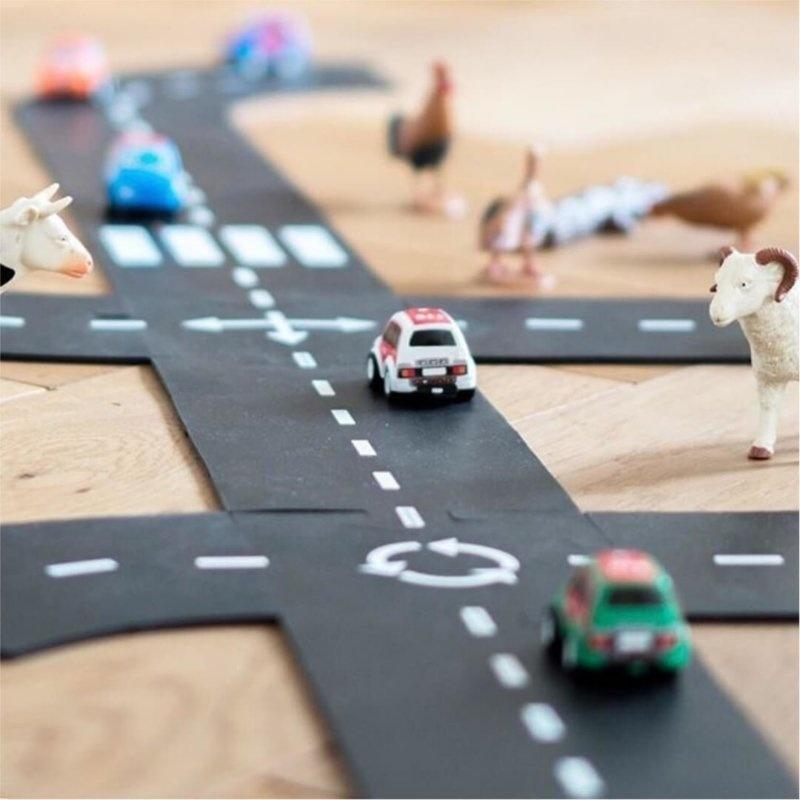 Waytoplay - Flexibele Autobaan - Expressway Set  (16-delig)