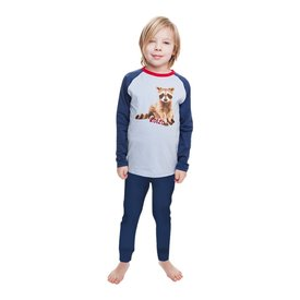 Pyjama Raccoon Blue