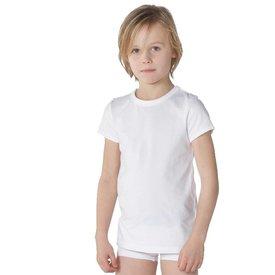 T-shirt ronde hals wit