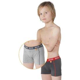 Boxershort grijs 2-pack