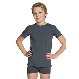 T-shirt ronde hals antraciet