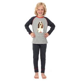 Pyjama Antraciet Beagle