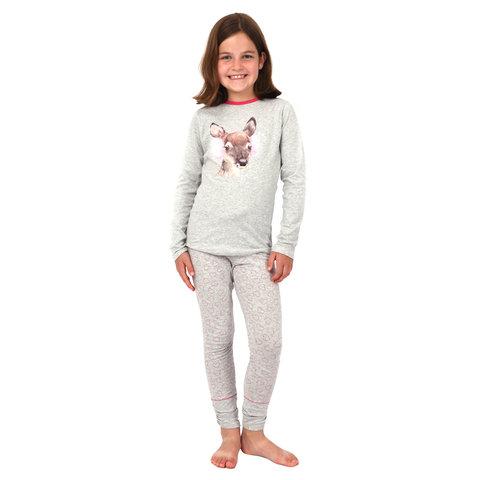 Pyjama Grey Cute Deer