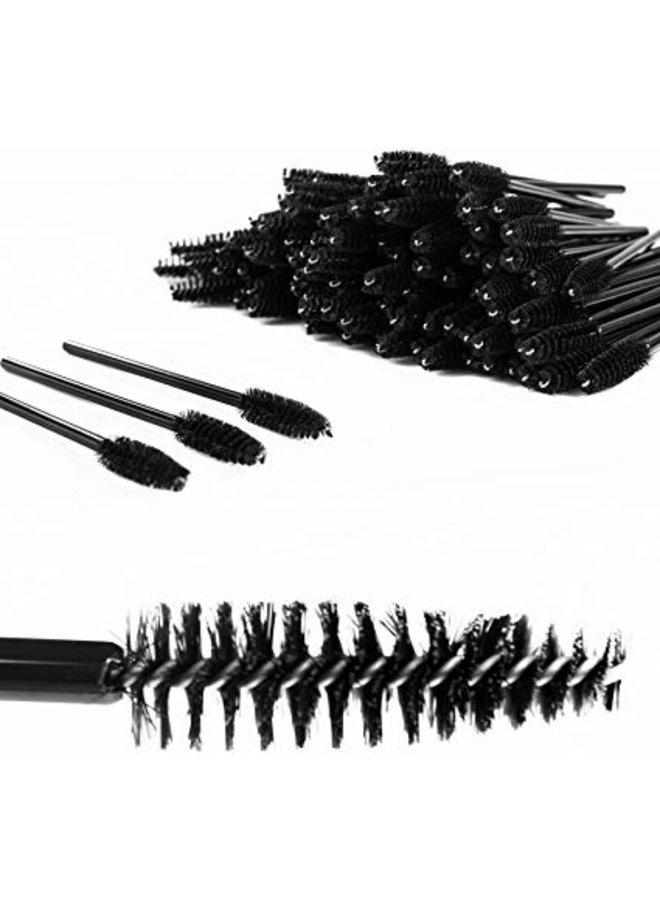 Eyebrow Brushes 50 stuks