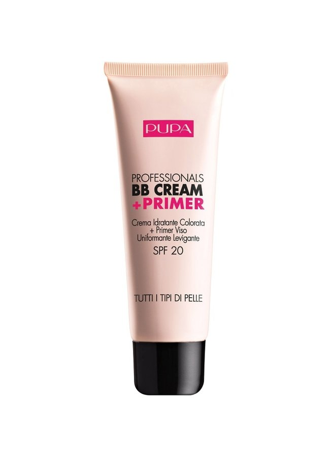 BB Cream + Primer 001 Nude