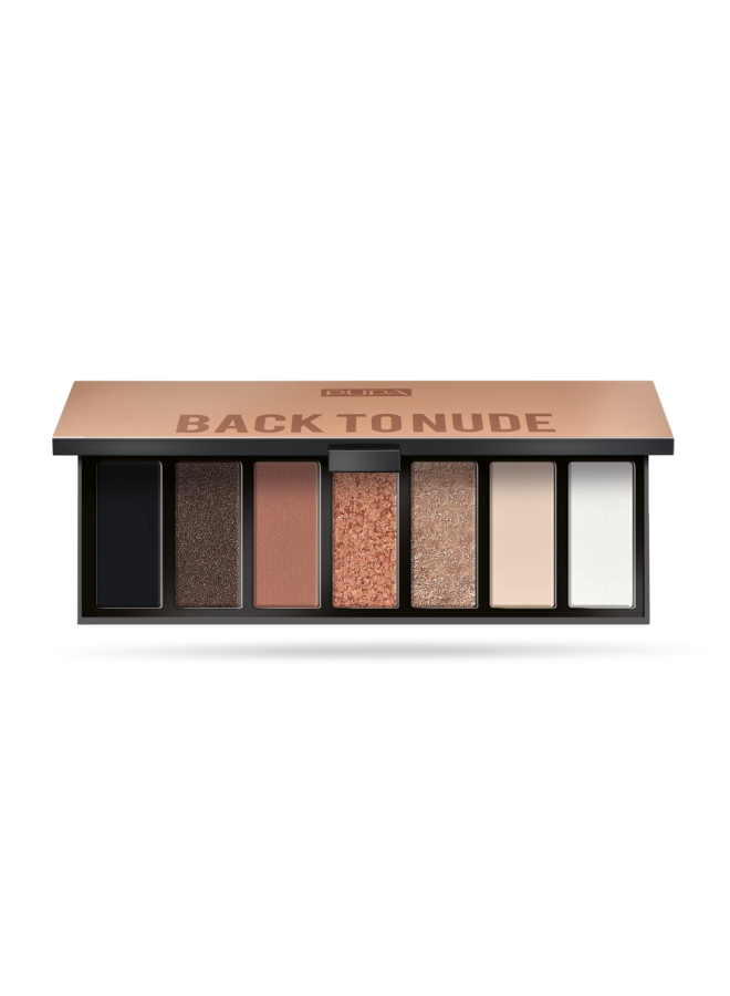 Oogschaduw Palette - Make Up Stories - Back To Nude 001
