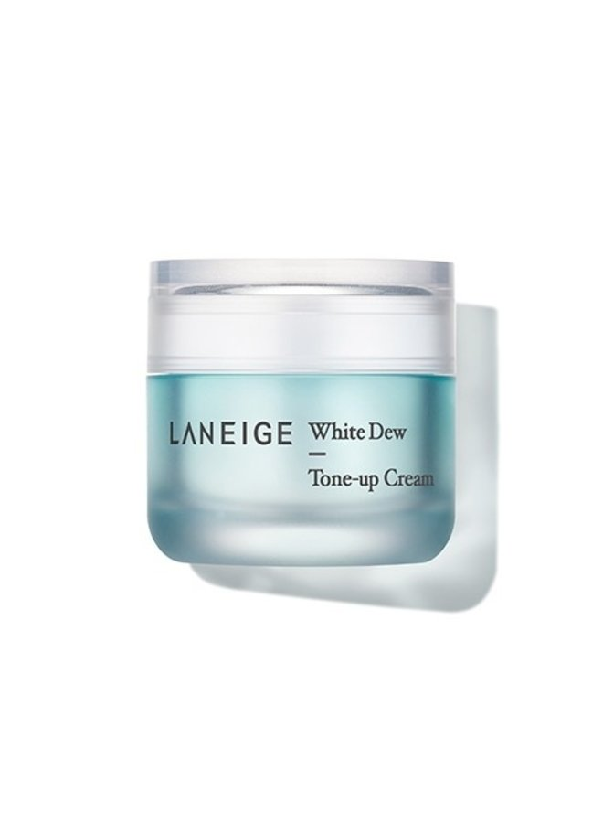 White Dew Tone Up Cream & Spons