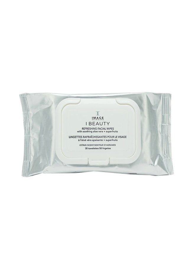 IMAGE Skincare I Beauty - Refreshing Facial Wipes (30 wipes)