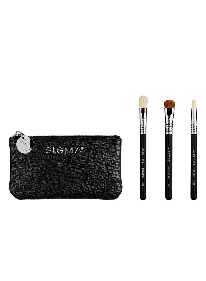 Sigma Glam 'N Go Mini Eye Brush Set