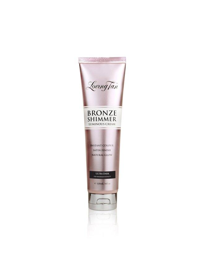 Loving Tan Bronze Shimmer Luminous Cream Ultra Dark 120ml