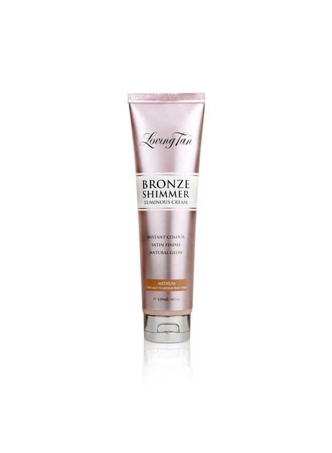 Loving Tan Bronze Shimmer Luminous Cream Medium 120ml