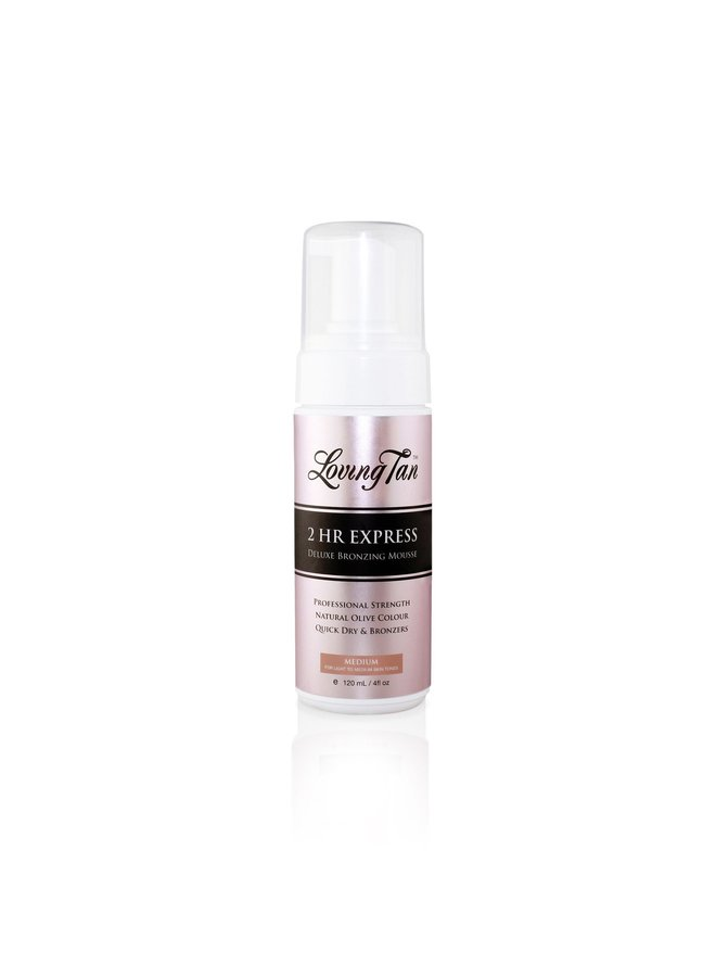 Loving Tan 2 Hr Express Medium Self Tanning Mousse 120ml