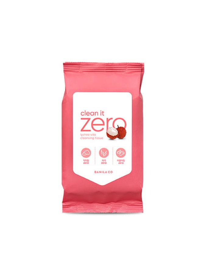 BANILA CO - Clean It Zero Lychee Vita Cleansing Tissue 130g