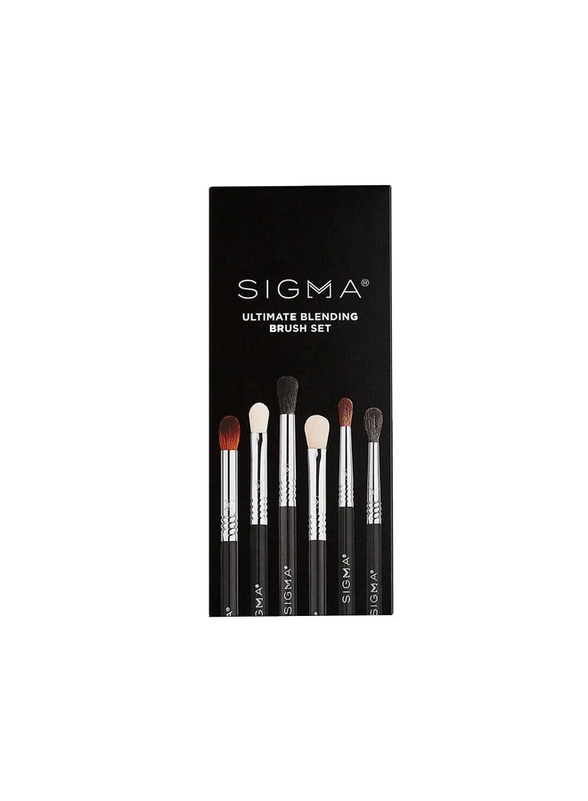 Sigma Ultimate Blending Brush Set