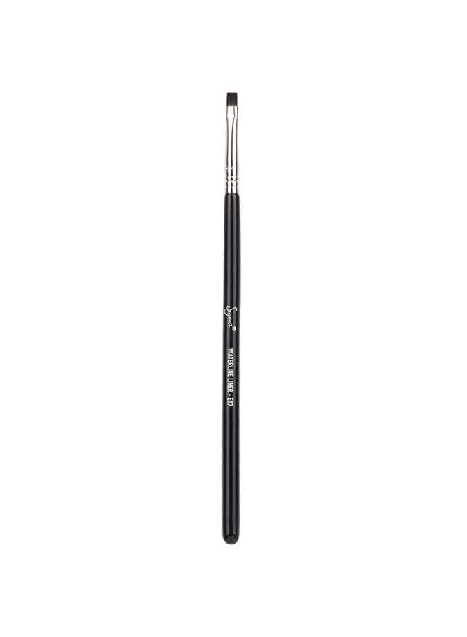 Sigma E17 Waterline Liner Brush - Black/Chrome