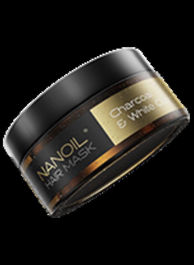 Nanoil - Charcoal & White Clay Hair Mask