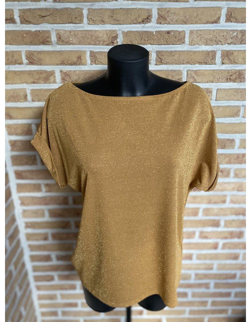 Terra di Siena T-shirt Glitter los model Terra Di Sienna