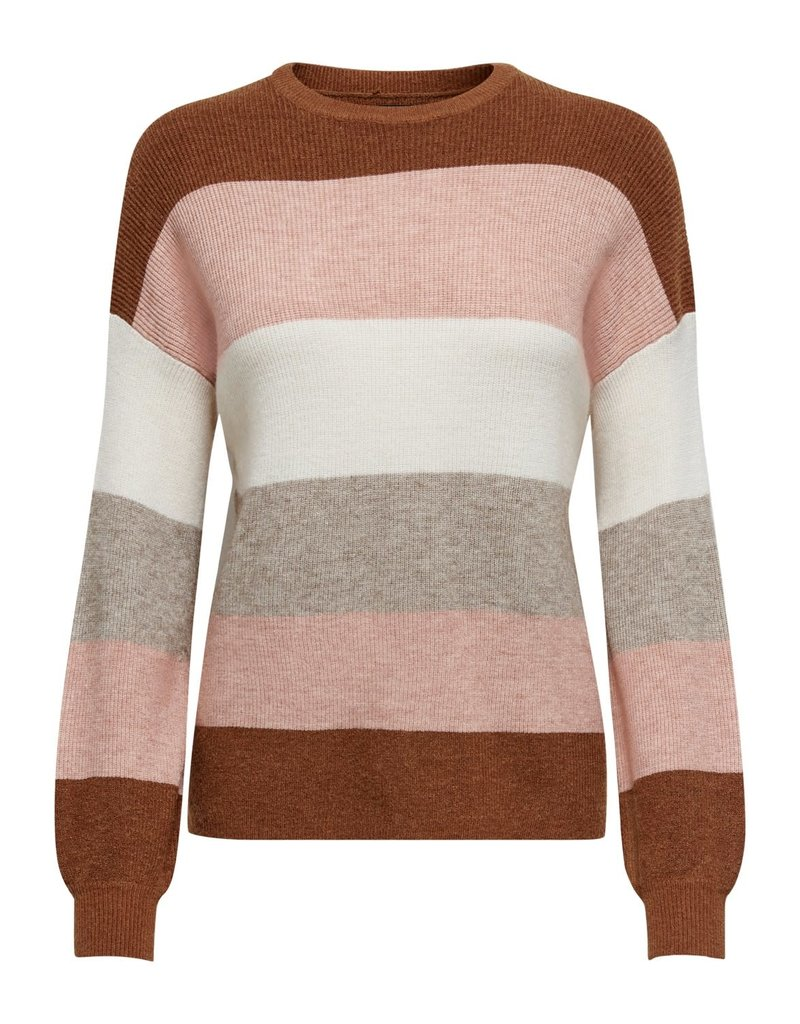 Pull Atia stripe Only Tortoise Shell Roest