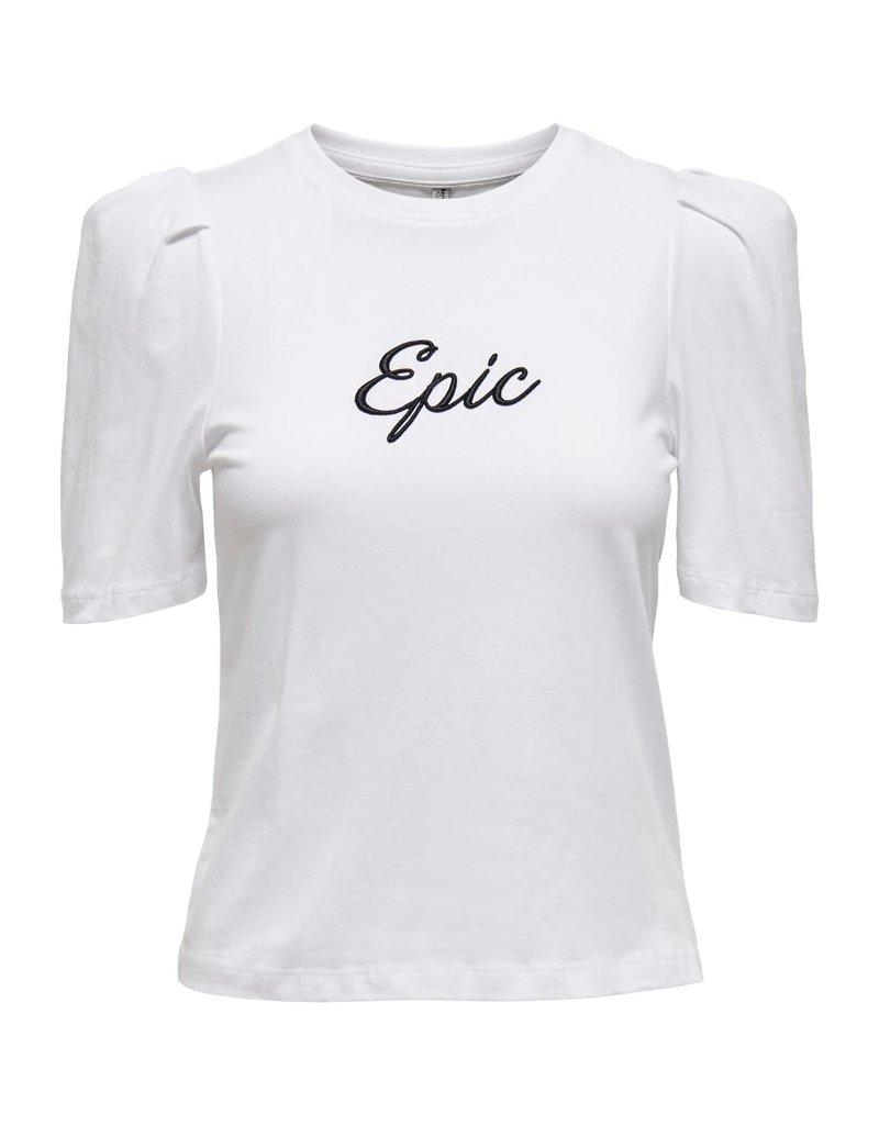 T shirt ELLA Only Wit Epic
