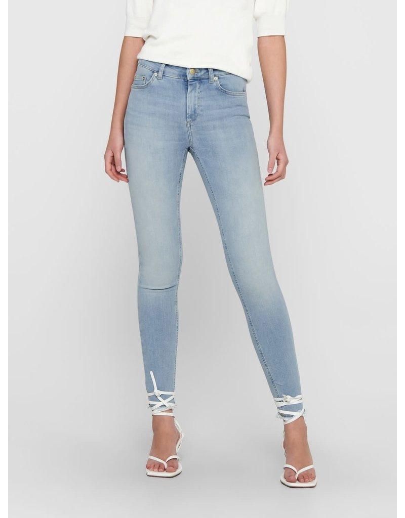 Only Broek Jeans BLUSH skinny enkel ONLY (NOOS)