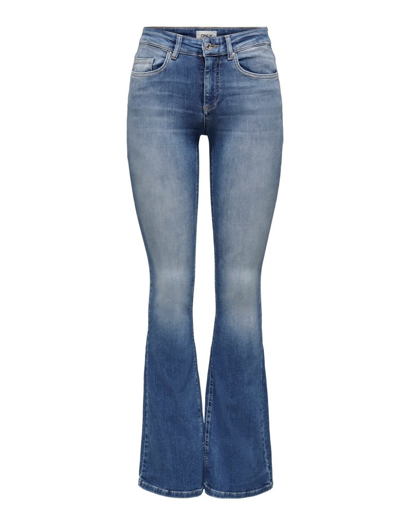 Only Broek Jeans Blush MID Flared Only blauw (NOOS)
